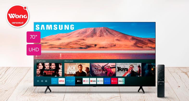 Samsung Smart TV Crystal 70