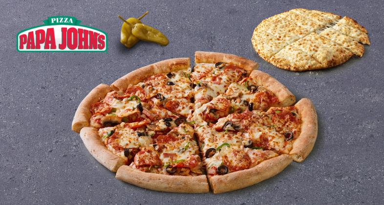 Pizza Grande Papa Jonh's