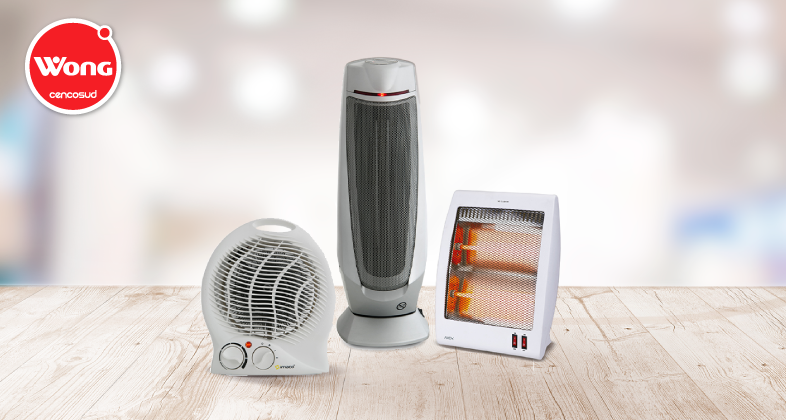 Calefacción, humedecedores y termoventiladores