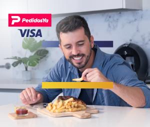 Visa y PedidosYa